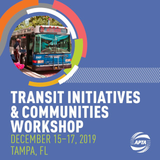 Transit Initiatives & Communities Workshop